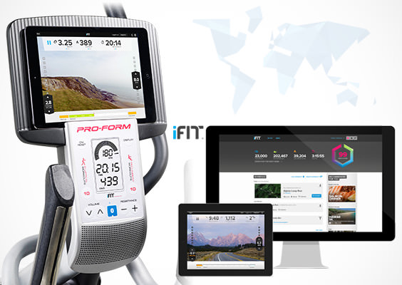 ifit Live on hybrid trainer pro