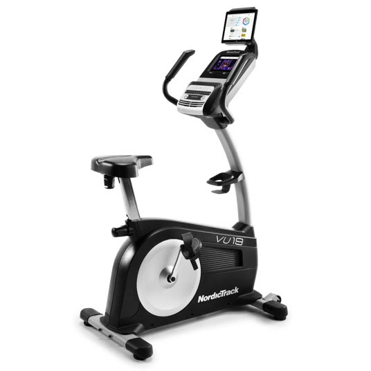 nordictrack commercial vu 19 upright bike review