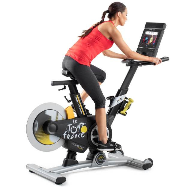 proform tour de france exercise bike review 2019