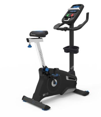 nautilus 618 upright exercise bike review