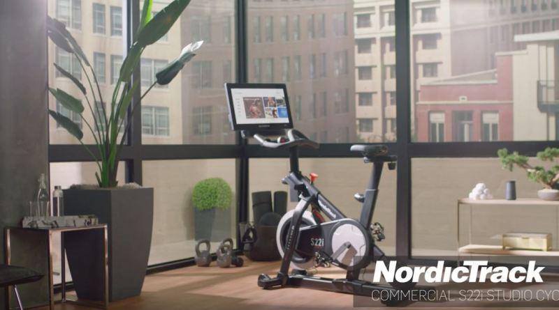 nordictrack s22i studio cycle video