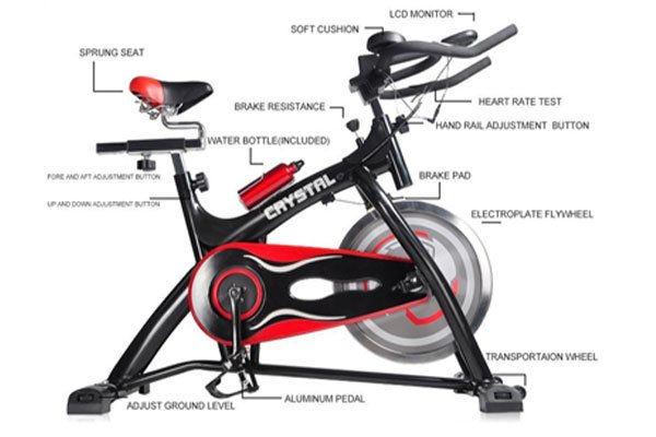Ainfox Exercise Spinning Bikes with Flywheel Fitness