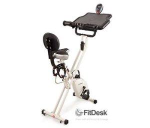FitDesk 2.0 Desk Exercise Bike with Massage Bar1