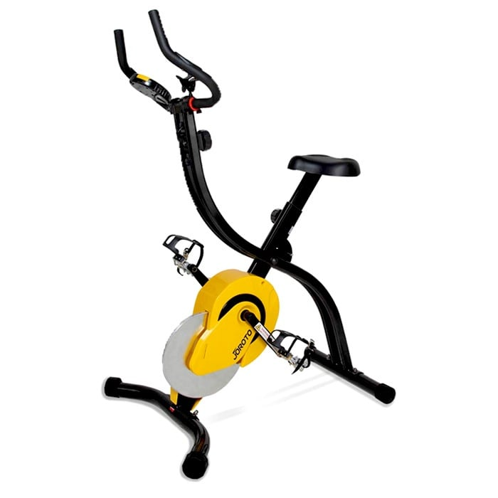 JOROTO-Folding-Magnetic-Standing-Indoor-Cycling-Stationary-Bike