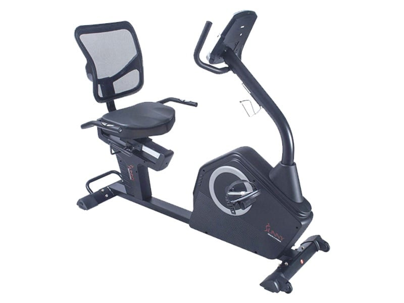 Sunny-Health-&-Fitness-Magnetic-Recumbent-Bike