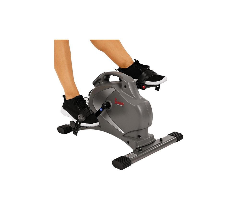 Sunny-Health-&-Fitness-SF-B0418-Magnetic-Mini-Exercise-Bike,-Gray