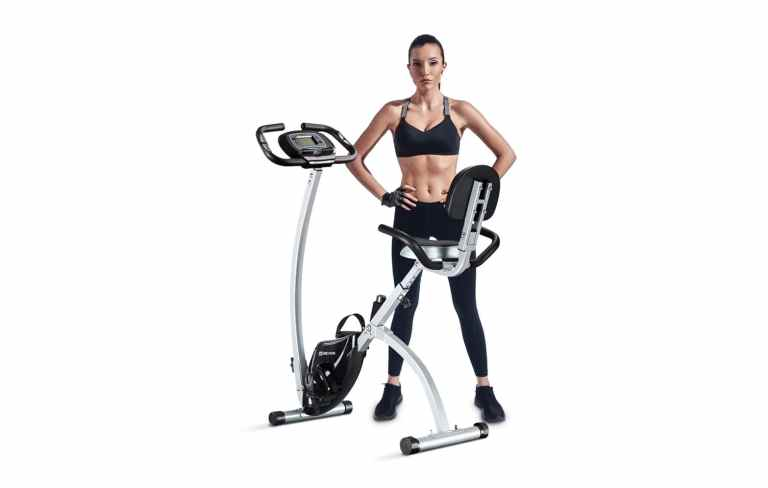 1.BCAN-Folding-Exercise-Bike-Magnetic-Upright-Bicycle
