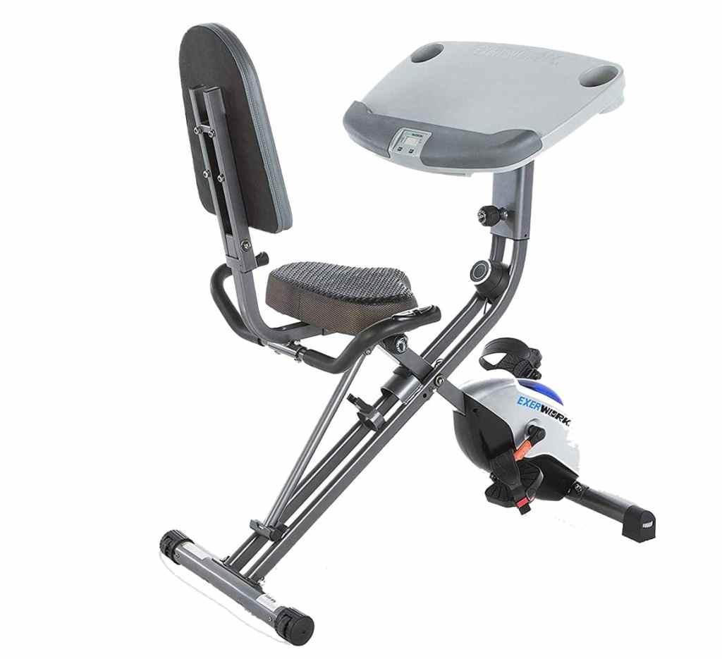 Exerpeutic ExerWork 1000 Desk Exercise Bike