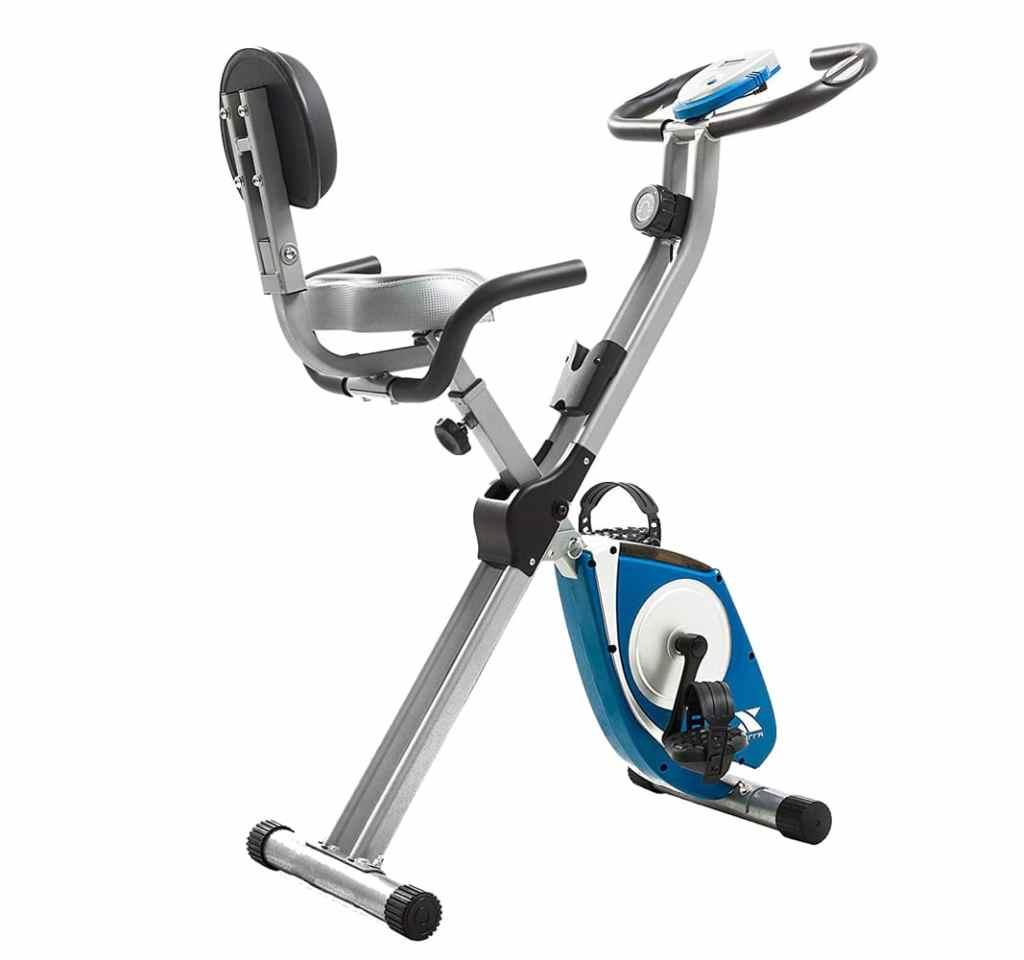 Soozier Exercise Bike Stationary Adjust Recumbent Foldable