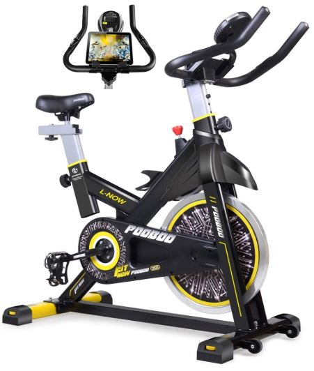 Pooboo indoor cycling stationary exercise bike