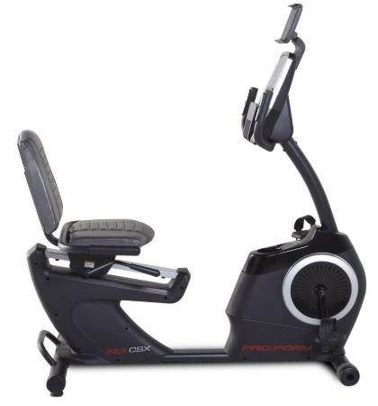 Proform 325 csx recumbent bike review