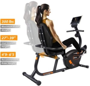 Jeekee Stationary Recumbent Bike