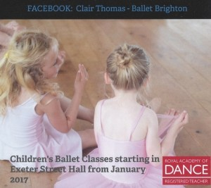 Ballet Class - Saturdays