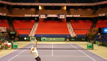 Corporate Communications sporting events decor_Davis Cup 2013