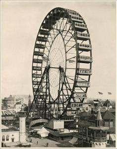 Glimpse at Tradeshow History_1893 Worlds Columbian Expo - Ferris Wheel_RFichter