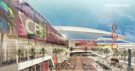 Proposed Global Business District, LVCC, Las Vegas, Nev., U.S.