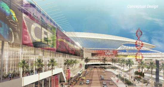 Proposed Global Business District, LVCC