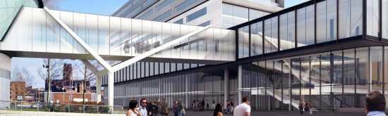 A bridge will connect the exhibition center to existing ACC Liverpool facilities.