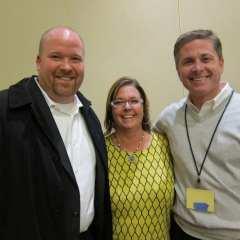 Jerry Grady, director, Access TCA; Michelle Plug, Abbvie; and Mike Cassady, vice president of sales, Czarnowski