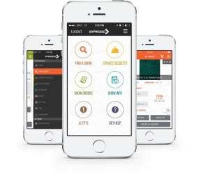 ECN 092014_NTL_GES' Expresso Mobile App Image