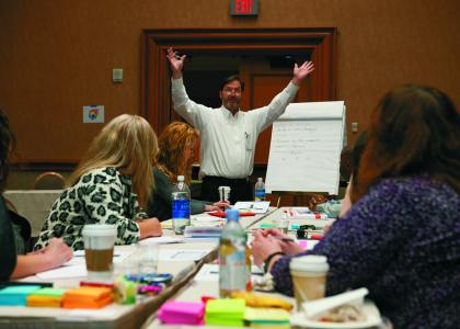 Show organizers partnered with IAEE to promote continuing education.