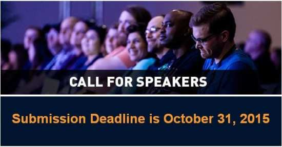 ECN 092015_NAB Show calls on speakers for 2016