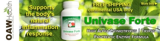 Buy Univase Forte Pancreatic Enzymes - 2015