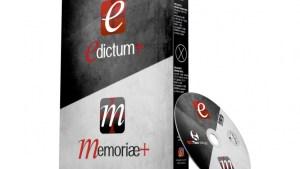 Versione DVD Edictum+ Pro  –  Memoriae+ Suite Pack