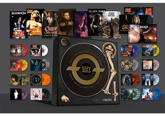 "OZZY OSBOURNE: ""SEE YOU ON THE OTHER SIDE"". Uno straordinario BOXSET celebra la carriera di OZZY OSBOURNE"