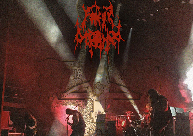 FATHER BEFOULED: Atlanta death metal horde's 'Anointed in Darkness – Live in Europe' out today via Krucyator Productions