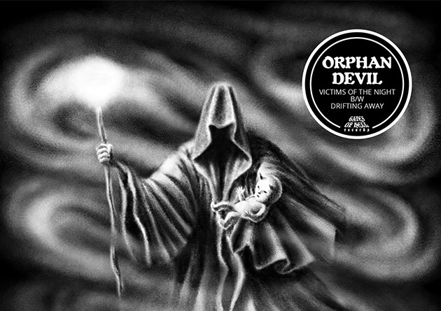 "ORPHAN DEVIL: ""Victims of the Night / Drifting Away"" (7"" EP) – Gates Of Hell Records"