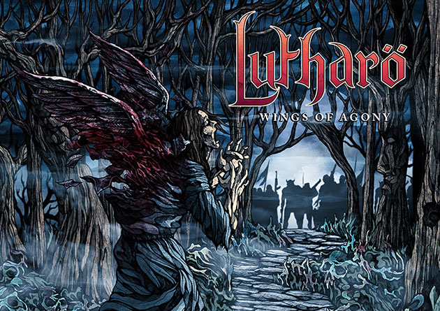 "Lutharö To Release New EP ""Wings of Agony"" March 27th + Reveal Artwork and Track Listing and more"