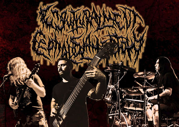 Engutturalment Cephaloslamectomy premiere their new single, 'Pour Some Pitriffs On Me' with Slam Worldwide