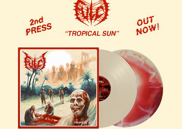 "FULCI: nuova ristampa in vinile per ""Tropical Sun"". Guarda il video del nuovo singolo ""Death By Metal""!"