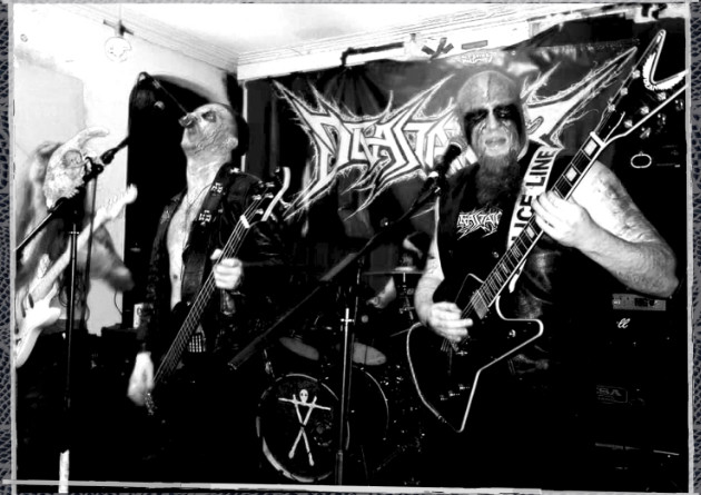 Devastator – Baptised In Blasphemy – Blackened speed metal aggression on Clobber Records