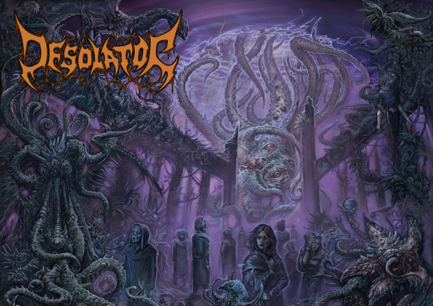DESOLATOR: Stockholm death metallers share new track featuring Karl Sanders; album 'Sermon of Apathy' out September via Black Lion Records