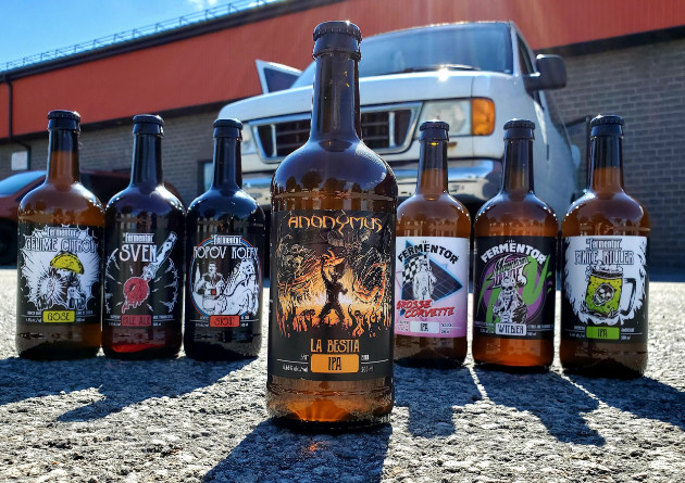 "Canadian Thrash Legends ANONYMUS Launch Beer ""La Bestia"""