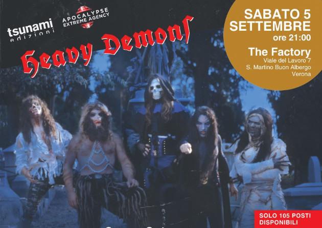 """""""HEAVY DEMONS NIGHT"""", LA STORIA DEI DEATH SS (1987-2020): presentazione esclusiva del libro a Verona"""