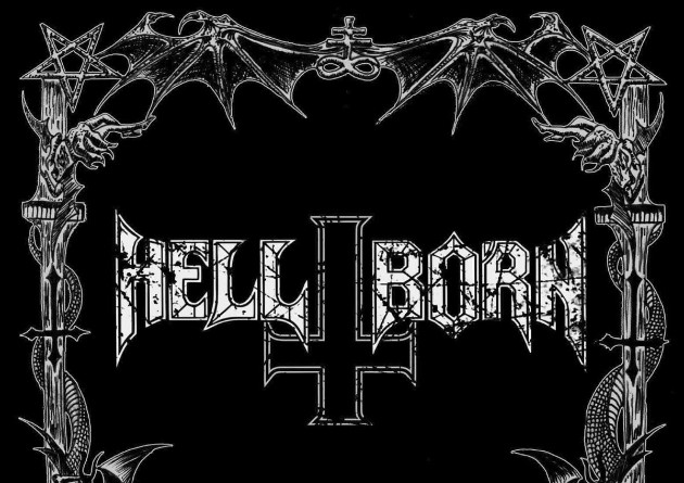 Hell-Born unveil the first track from their Natas Liah album, with a lyric video for the devastating 'Axis Of Decay'