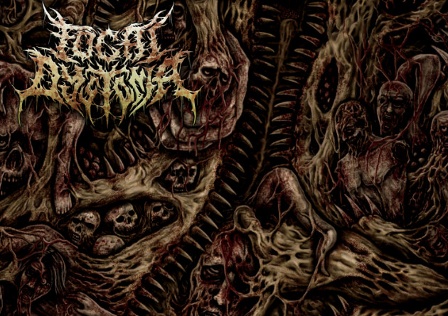 Focal Dystonia – Descending (in)human Flesh – COMATOSE MUSIC – Release date: DECEMBER 11th 2020