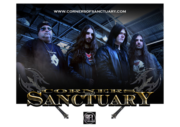 "CORNERS OF SANCTUARY – ""Metal Never Dies: The Online Barrage of Shows 2020 & Beyond"" Tour, Sign with Killsound Productions"