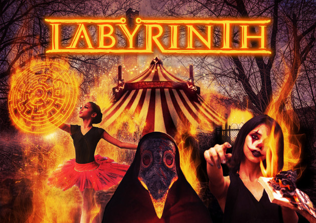 "LABYRINTH: ""Live Today"" Taken from the upcoming album ""Welcome To The Absurd Circus"""