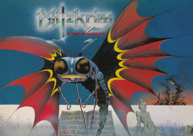 BLITZKRIEG – A Time Of Changes (Reissue) High Roller Records