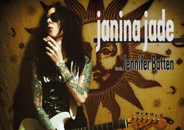 JANINA JADE Release 'Heart Of Rock N Roll' Single, Featuring JENNIFER BATTEN On Lead Guitar