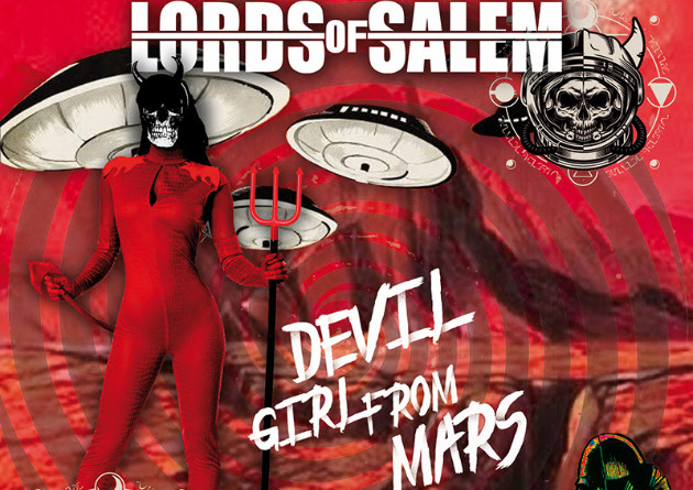 """LORDS OF SALEM presents its Music Video for the New Single """"Devil Girl From Mars"""""""