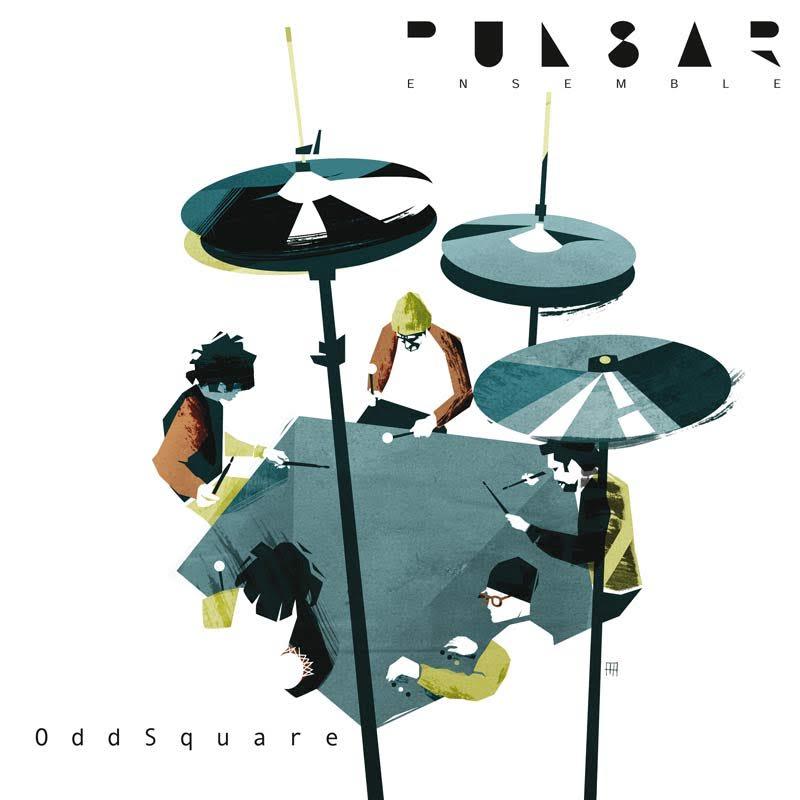 """PULSAR ENSEMBLE: """"OddSquare""""- su etichetta RITMO & BLU - distribuito da G.T. Music Distribution"""