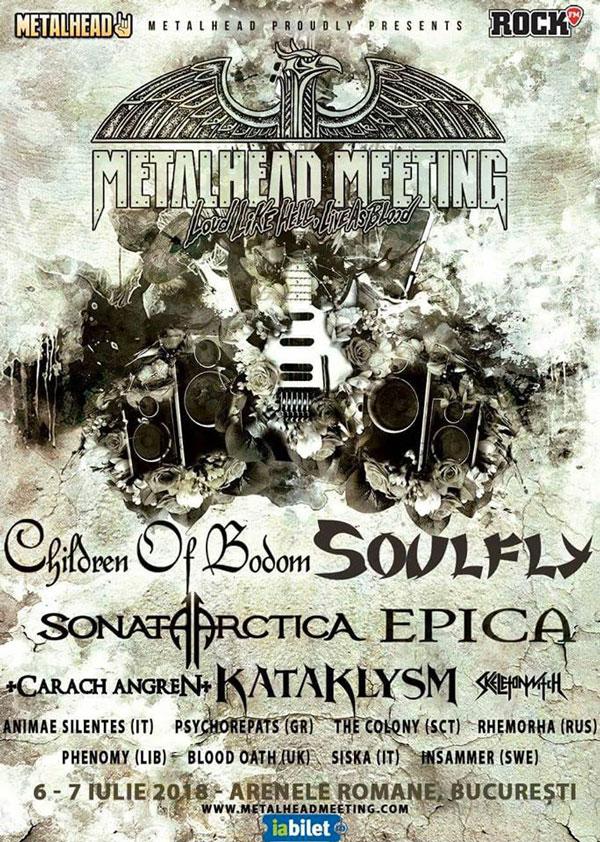 I SISKA hard rock/Heavy metal band di Vicenza apriranno il concerto ai Children Of Bodom, Sonata Arctica, Epica e Soulfly al Metalhead Meeting Festival all'arena romana di Bucarest, Romania.