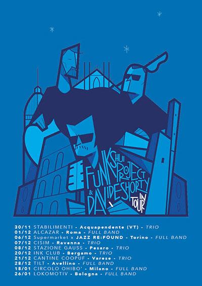 """Funk Shui Project & Davide Shorty """"Terapia di Gruppo"""" @ Alcazar, Roma - Live Sabato 01 dicembre"""