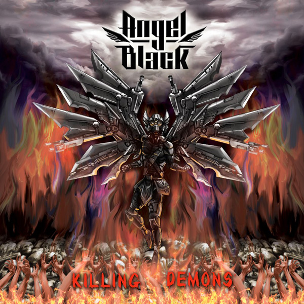 "ANGEL BLACK: ""Killing Demons"" - ROCKSHOTS Records"