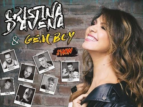 CRISTINA D'AVENA TORNA CON I GEM BOY IL 16 MARZO AL LIVE MUSIC CLUB DI TREZZO SULL'ADDA (MI)